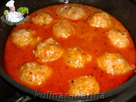 Тефтели в соусе на сковороде рецепт с пошагово