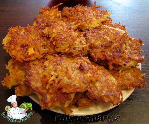Драники из картошки рецепт с майонезом